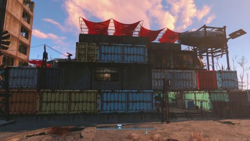 Fallout 4 Build Starlight Castle | Строительство