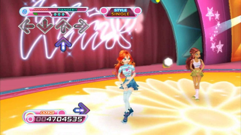 Lets Play Dance Dance Revolution Winx Club - Part 5 [Final Bloom Story]
