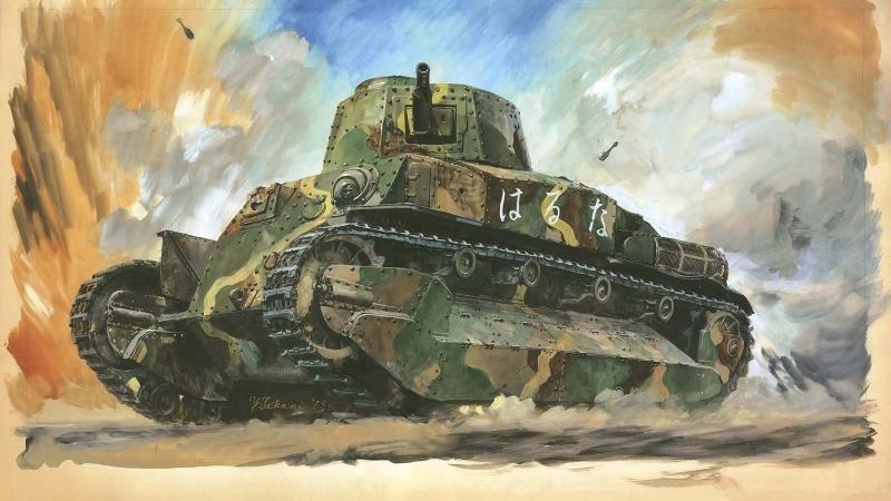 Сверхтяжелые танки США и Японии .