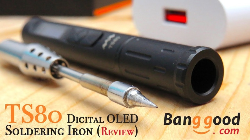 TS80 Digital OLED Smart Soldering Iron Review