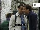 Friends Cast Filming on Location in London, 1998