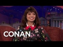 Kate Micucci's Brief Bloody Stint As A Magician's Assistant - CONAN on TBS