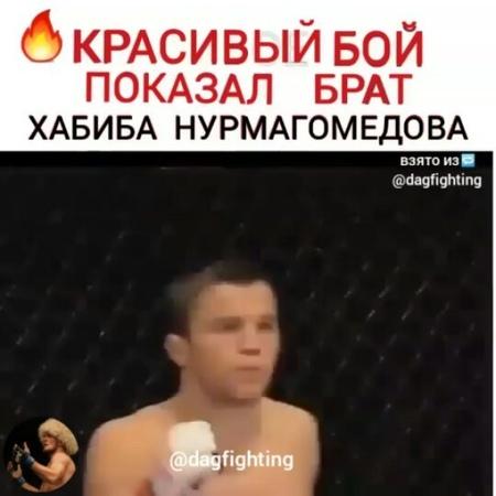 """DAGESTAN MMA on Instagram """"🔥Великолепная победа Омара Нурмагомедова (8-0-0)✊ Поставьте лайк❤ я очень старался ради вас друзья☺ всем спасибо! 💓✊ 🎥@..."""