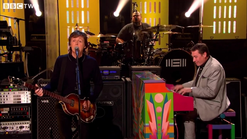 Paul McCartney Get Back Later with Jools Holland BBC Two HD