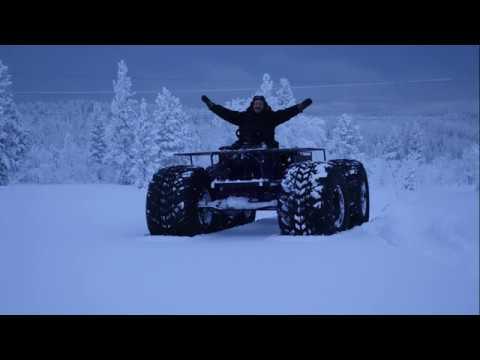 Вездеход Тунгус по снегу