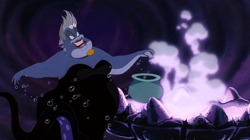 Мой Несчастный Дружок Poor Unfortunate Souls Ariels Voice - Русалочка | Official Disney HD