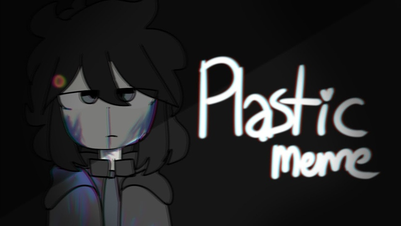 Plastic | animation meme | dbh (bloodflash warning)