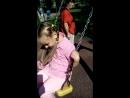 Сонечка с прабабушкой