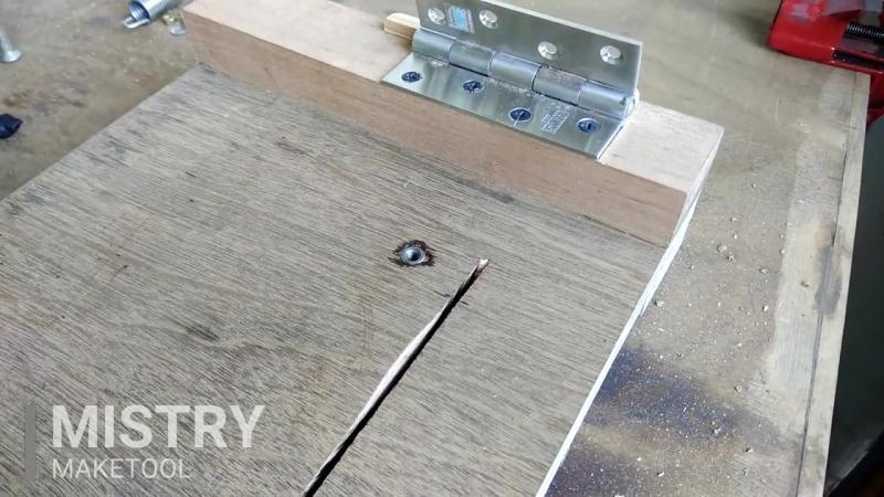 Circular saw Hack __ Make A Mini Chop saw Machine