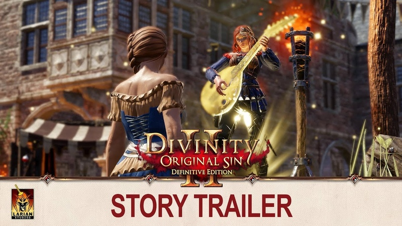 Divinity: Original Sin 2 - Story Trailer   PS4 and Xbox One