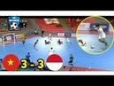 BERAKHIR IMBANG! VIETNAM U20 (3) VS (3) INDONESIA U20 - FULL HIGHLIGHTS
