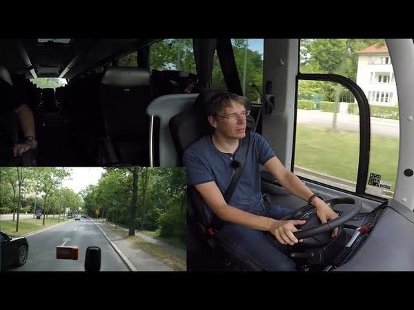 Kamera läuft - Bus fährt: MAN Lion's Coach