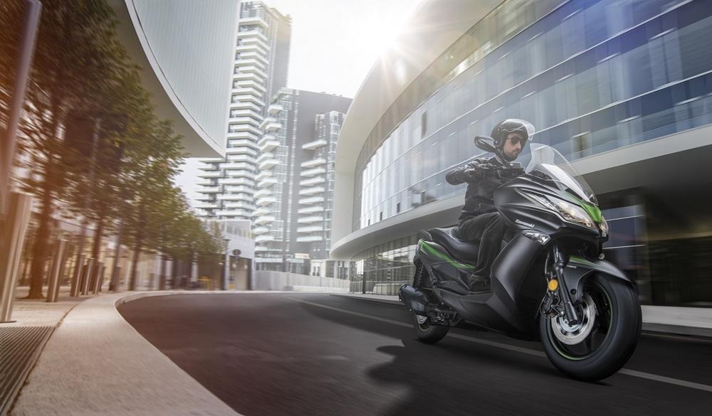 Скутеры Kawasaki J125 / J300 2019