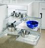 Hafele Magic Corner II for Blind Corner Cabinets