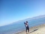 Crucified на арфе у моря