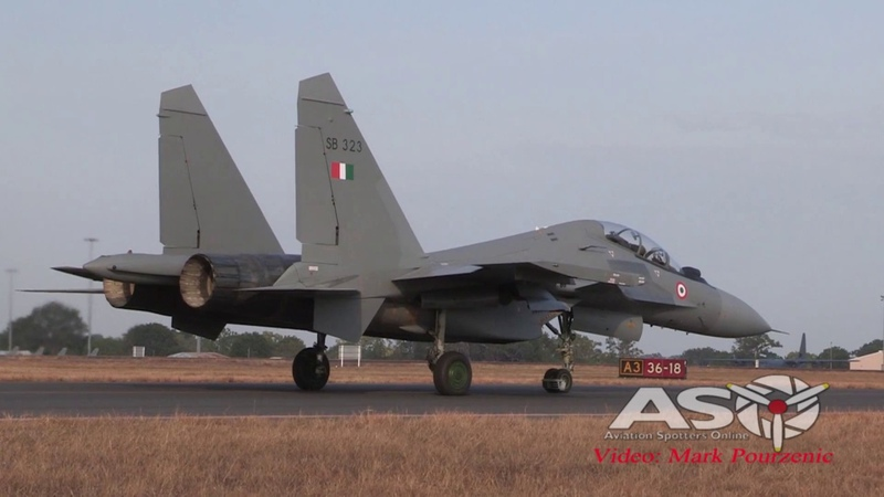 Indian Air Force Sukhoi Su-30MKI Exercise Pitch Black 2018