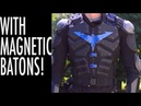 Nightwing's Armor Vest Tutorial With Magnetic Batons