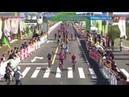 Финишный спринт на втором этапе Тура Синтая 2018