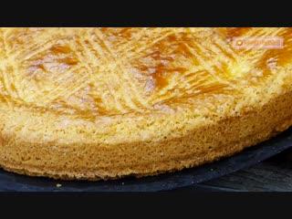 """Вкуснейшая испанская сладость! интересное пирожное """"баско"""" с нежным заварным кремом."""