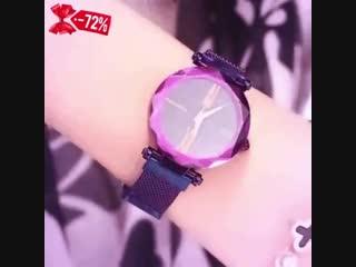 Starry Sky Watch женские часы в наборе с браслетами