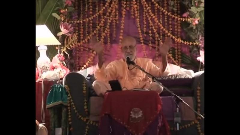 2008 Vyasa-puja2008. Часть 2. Лекция в день Вьяса-пуджи