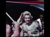 Very Rare Colour footage Of Marilyn Monroe -