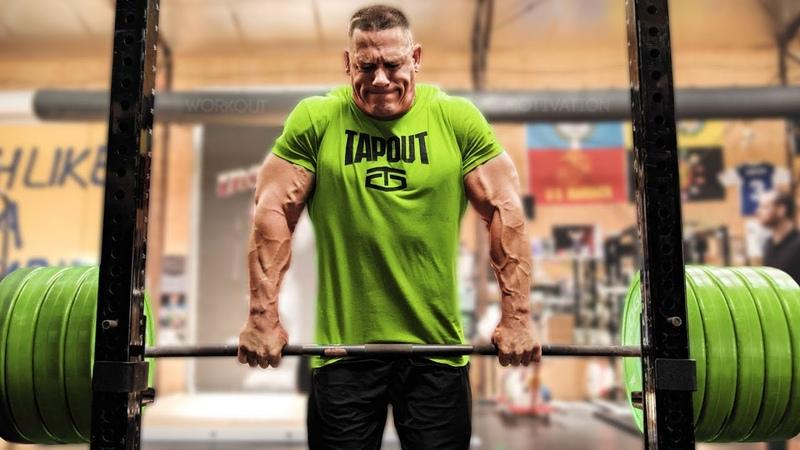 John Cena WWE Training 2017