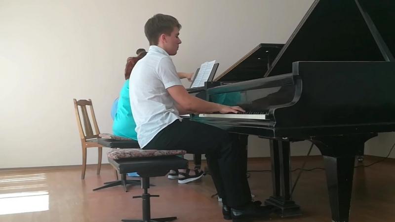 С.В. Рахманинов концерт №2 III часть