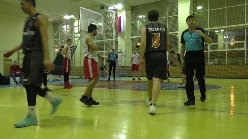 РБЛ. БК Университет vs БК Таганрог 22 02 19
