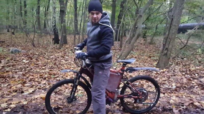 Rower elektryczny E bike 6000w