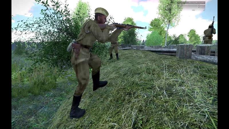 Arma 3 Red Bear Iron Front Эскадрон Часть 2 - Оборона