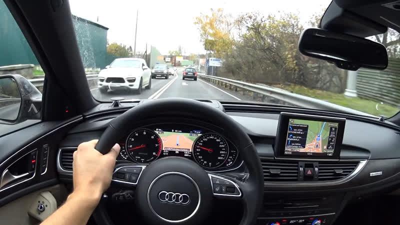 Прокатимся по Рублевке на новой Audi A6 Allroad ... Присоединяйся