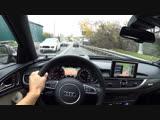 Прокатимся по Рублевке на новой Audi A6 Allroad ... Присоединяйся !!!