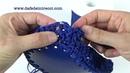 PUNTO CESTA Crochet TUTORIAL La Fede Intrecci