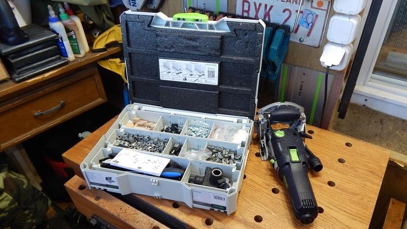 Система разъемных соединений для Festool Domino DF 500