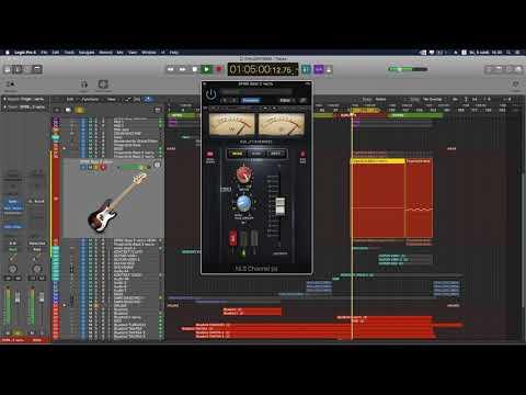 Создание музыки в Logic Pro X 8