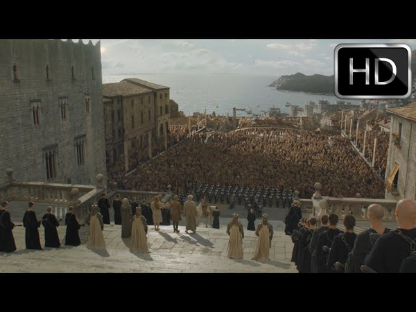 S6 E6 Game of Thrones Jaime Lannister and Mace Tyrell confront the High Sparrow HD