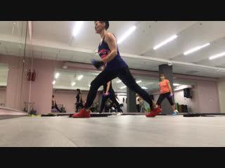 Спина, бедра, ягодицы /Суперфигура - модельный тренинг- семинар SFC