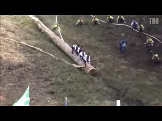 The best of - japanese log riding