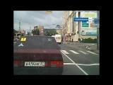 Иваново маршрутка пролетает на красный