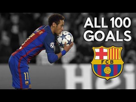 Neymar Jr ● All 100 Goals for FC Barcelona ● 2013-2017