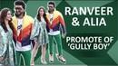 Alia Bhatt Ranveer Singh Promote Gully Boy In New Style | Apna Time Aayega