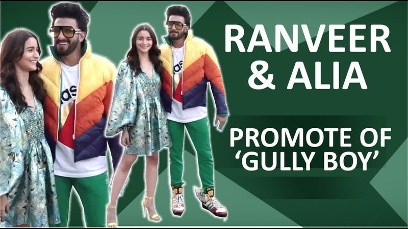 Alia Bhatt Ranveer Singh Promote Gully Boy In New Style | Apna Time Aayega