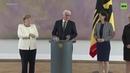 Меркель снова начало трясти во время официальной встречи видео