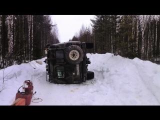 По простым зимникам с непростыми приключениями. Мезень-Коми 2016
