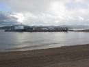 Красноярское море. Даурское. Паром приближается.
