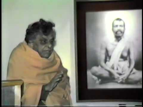 Swami Aseshananda recounts meeting with Swami Brahmananda and Sri Sarda Devi, Holy Mother