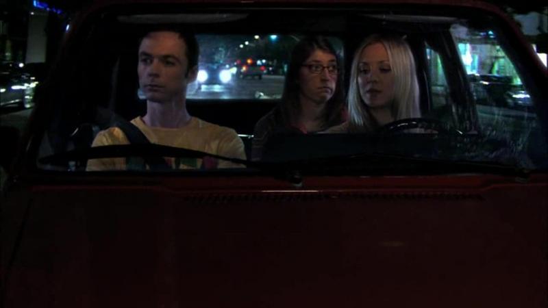 [4х1] Шелдон, Эми и Пенни едут на свидание