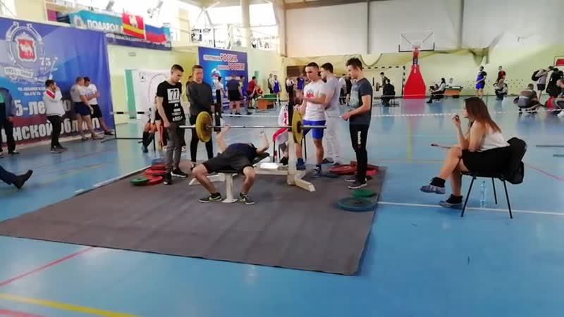 Жим лёжа - Радмир Мухаметьянов