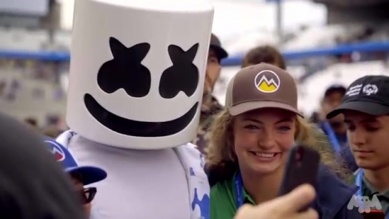 Marshmello Supports Special Olympics 2018.mp4
